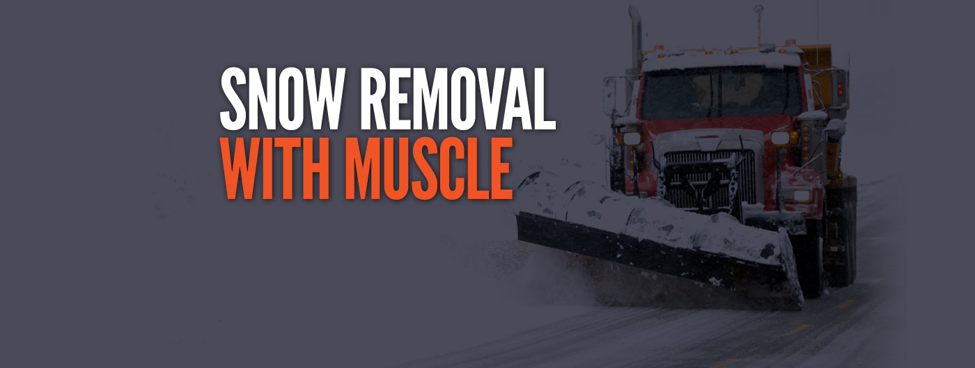 Snow Removal With Muscle